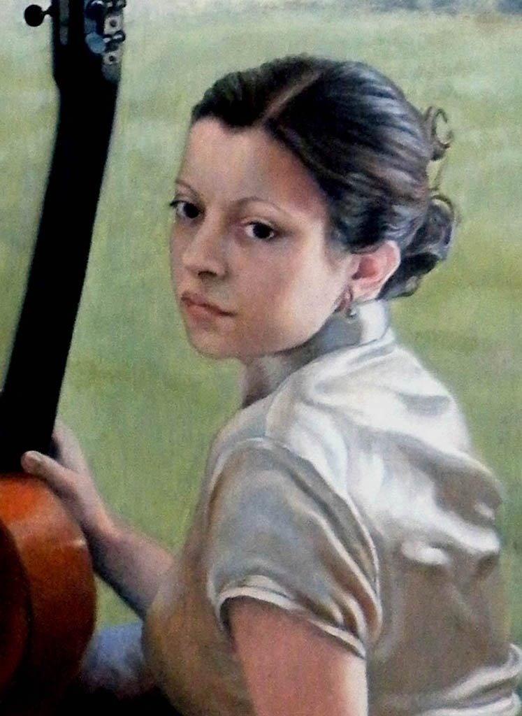 fine art oil portrait painting